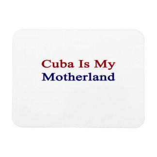 Cuba Is My Motherland Rectangular Photo Magnet