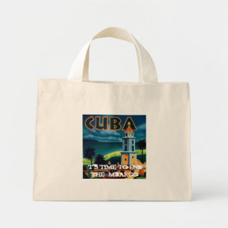 Cuba, It's time to end the Embargo Mini Tote Bag