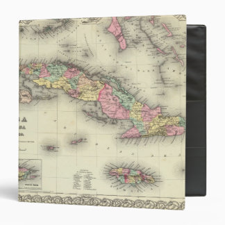 Cuba, Jamaica And Puerto Rico 3 Ring Binder