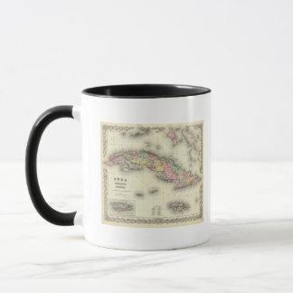 Cuba, Jamaica And Puerto Rico Mug
