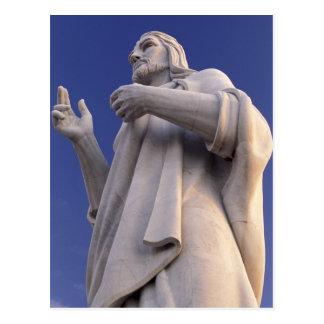 Cuba, La Habana, escultura de Jesús Postales