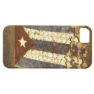 CUBA, La Habana. Rompecabezas del mosaico de la iPhone 5 Carcasas