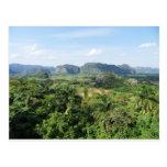 Cuba landscape post card
