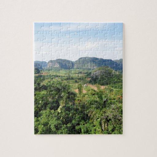 Cuba landscape puzzles