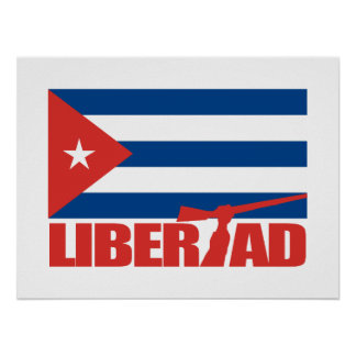 Cuba - Libertad Póster