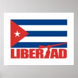 Cuba -Libertad Posters
