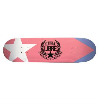 Cuba Libre Motto Laurels Skate Deck