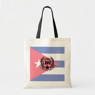 Cuba Libre Motto Laurels Tote Bag