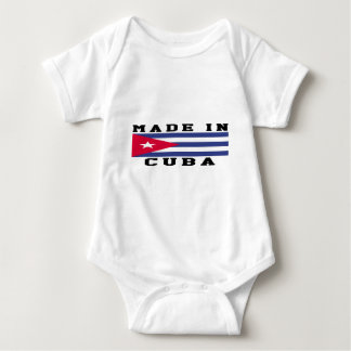 Cuba Made In Designs Baby Bodysuit