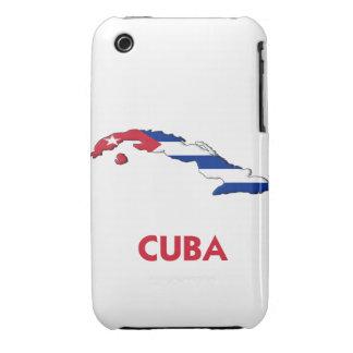 CUBA MAP iPhone 3 CASE