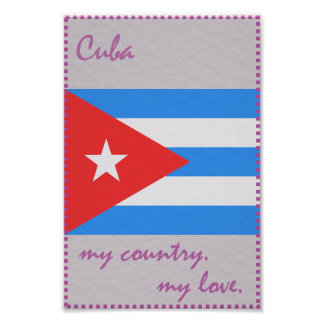 Cuba My Country My Love Poster