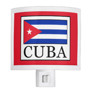 Cuba Night Light