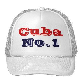 Cuba número uno gorra