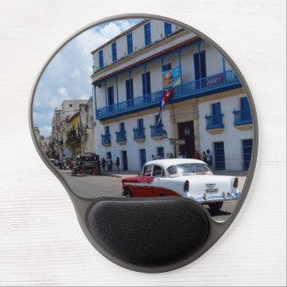 Cuba Old Car Gel Mouse Pad