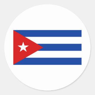 Cuba Pegatina Redonda