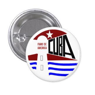 CUBA PIN REDONDO DE 1 PULGADA