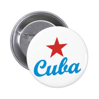 Cuba Pinback Button
