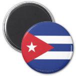 Cuba Plain Flag Fridge Magnets
