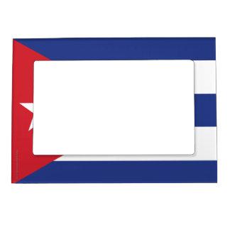 Cuba Plain Flag Magnetic Photo Frame