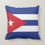 Cuba Plain Flag Pillows