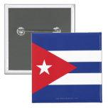 Cuba Plain Flag Pinback Button