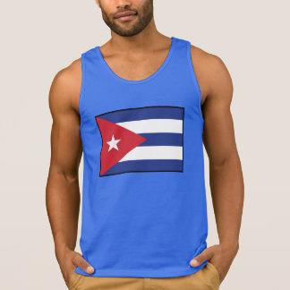 Cuba Plain Flag Tank Top