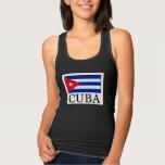 Cuba Playera Con Tirantes