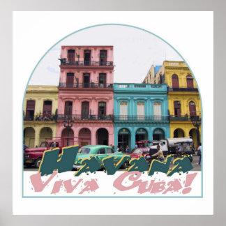CUBA POSTER Print