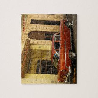 Cuba Puzzle - Vintage Cars - Fiffties Beauty