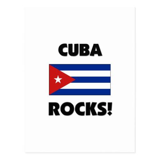 Cuba Rocks Postcard
