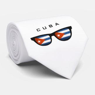 Cuba Shades custom text & color tie