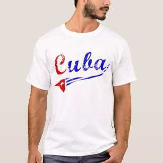 Cuba Shirt with Cuban Flag