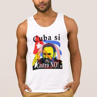 Cuba Si Castro ninguna camisa