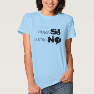 CUBA, SI, CASTRO, NO REMERAS