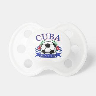 Cuba soccer ball designs pacifiers