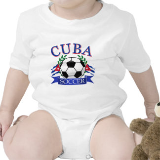 Cuba soccer ball designs bodysuit
