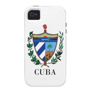 CUBA - symbol/coat of arms/flag/colors/emblem Case-Mate iPhone 4 Cover