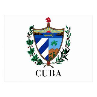 CUBA - symbol/coat of arms/flag/colors/emblem Postcard
