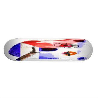 Cuba Teddy Bear with Cigar, with Cuban Flag Skateboard Deck