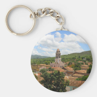Cuba Town View Keychains