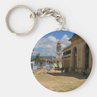 Cuba Town View Key Chain