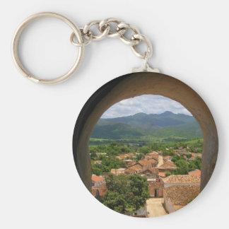 Cuba Town View Key Chains