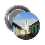 Cuba Trinidad Pin Redondo De 2 Pulgadas