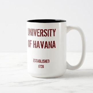 Cuba University* de la taza de La Habana