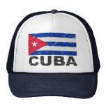 Cuba Vintage Flag Trucker Hat