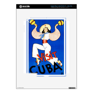 Cuba Vintage Gifts Decals For iPad 3