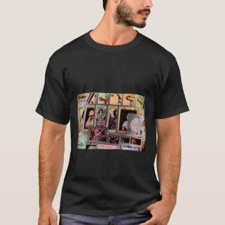 Cuba, vintage postage, mens' t-Shirts template