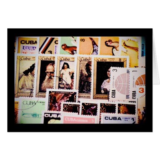 Cuba vintage postage stamps greeting cards zazzle cuba vintage postage stamps greeting cards m4hsunfo