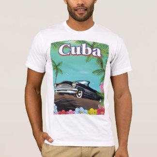 Cuba vintage style travel poster T-Shirt