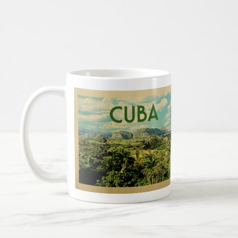 Cuba Vintage Travel Coffee Mug